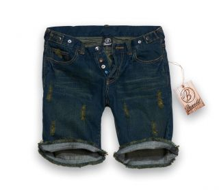 Brandit GIRL SHORT DENIM Ladies Damen Jeans Shorts W27 W34