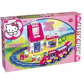 BIG 57011   Play BIG Bloxx Bahnhof Hello Kitty Spielzeug