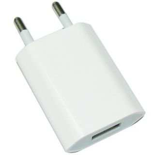 EU Plug USB Power Home Wall Charger Adapter for Apple iPod iPhone 3G