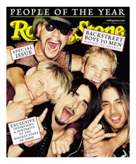 Backstreet Boys, Rolling Stone no. 856/857, December 14   21, 2000 Photographic Print by David Lachapelle