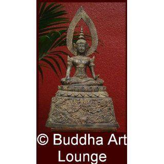 Buddha, Statue, Figur, Skulptur, Bild, Antik, Bronze, Groß