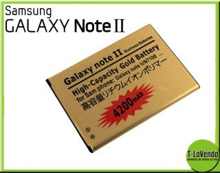 High Power Akku Batterie 4200 mAh 3 7V fuer Samsung Galaxy Note 2 II