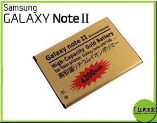 High Power Akku Batterie 4200 mAh 3 7V fuer Samsung Galaxy Note 2 II