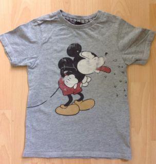 Cooles H&M Mickey Mouse T Shirt Shirt Gr. 110/116 *Neuwertig*