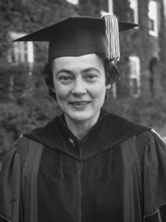 Biographer Margaret Clapp, 1 of 12 Distinguished Women Awarded Honorary Degree from Smith College Premium Photographic Print