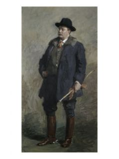 Theodore Roosevelt 26th President of the United States Giclee Print by Gari Melchers