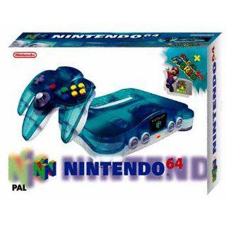Nintendo 64   Gerät Clear Blue + Super Mario Games