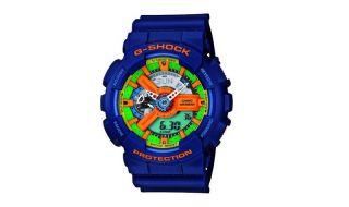 Casio G Shock GA 110FC 2AER G Shock Uhr Watch navy blue blau