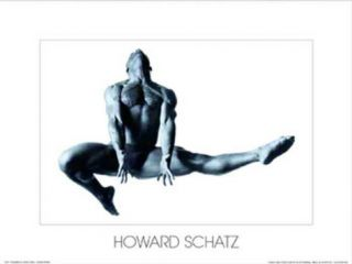 Male Dancer in Flight Prints by Howard Schatz