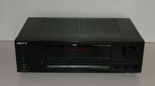 Sony STR GX415 RDS Stereo Receiver mit 2x 110 Watt sch.