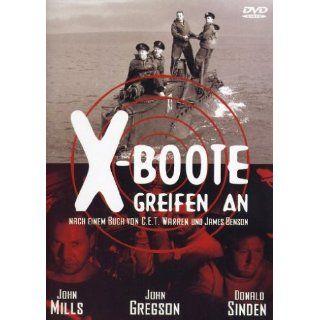 Boote greifen an Sir John Mills, John Gregson, Donald