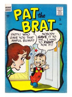 Archie Comics Retro Pat the Brat Comic Book Cover #18 (Aged) Prints