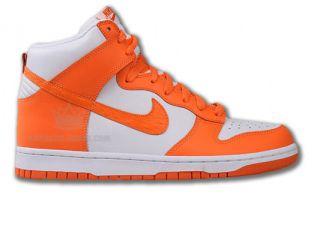 Nike Dunk High Grau/Orange Neu Größen wählbar Air Force 1 Mid