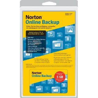 Norton Online Backup 1.0, 5 GB: Software