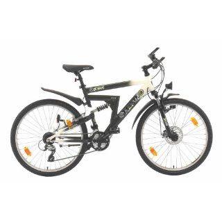 Texo ATB Fahrrad 66 cm (26 Zoll) ATB Alu Fully Z Type 24 Gang Shimano