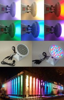 LED Fluter 36 x 1W Cree High Power RGB Farbwechsel DMX