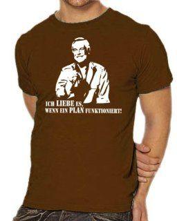Hannibal vom A Team T Shirt S XXXL div. Farben Sport