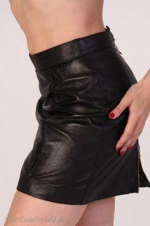 Lammleder Minirock Lederrock Lambskin Mini Skirt S XXL