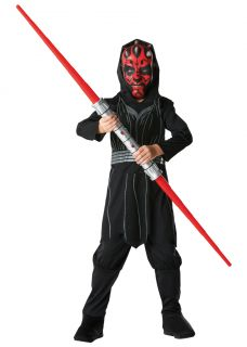 Star Wars Darth Maul Kinder Karneval Kostüm 116, 128, 140