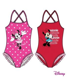 Neu Minnie Mouse Mickey Badeanzug Disney Gr 98 104 110 116 128