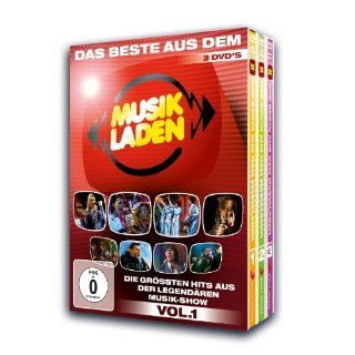 Various Artists   Das beste aus dem Musikladen, Vol. 1 3 DVDs: