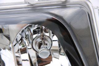 Klarglas Scheinwerfer Schwarz Mercedes W124 E Klasse