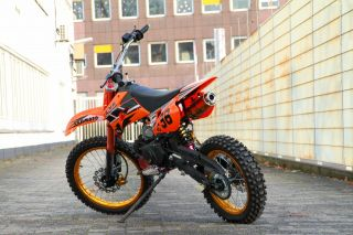 Cross Enduro Pit Dirt Bike Motorcross 125cc Vollcross