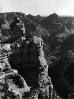 Aerial View of Rock Formation in the Grand Canyon Premium Photographic Print by Margaret Bourke White