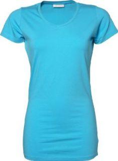TJ455 Tee Jays Damen Stretch T Shirt extra lang Bekleidung