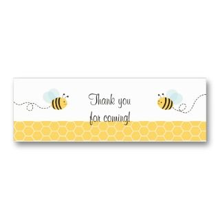 Baby Shower Favor Gift Tags Business Card Template