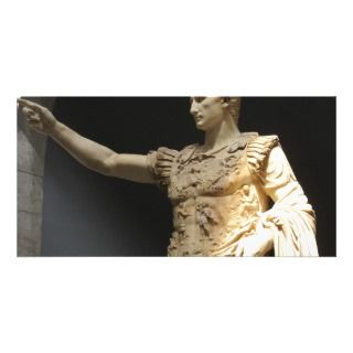 Julius Caesar Custom Photo Card