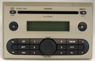 Radio Blaupunkt NISSAN Micra Note MMR 6 CDC 28 184 BC40A BP5386, 7645