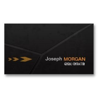 PixDezines General Contractor Business Card Templates