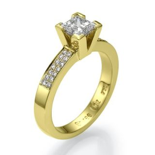 72 Carat D/SI Diamant Ring 585 14kt Solitar Gold Diamantring Wert