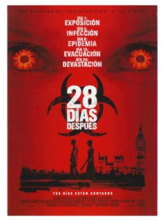 28 Days Later, Spanish Movie Poster, 2003 Premium Giclee Print