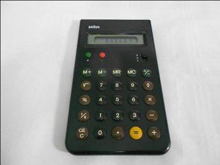 Calculator 4835 Dieter Rams Dietrich Lubs 1981 Serienno. 138 Rechner
