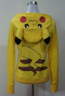 Japan Anime Pokemon Pikachu Kapuzen Sweatshirt Hoodie Hoody Kostüme