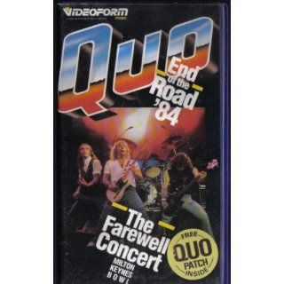 Status Quo End of Road 84 [VHS] [UK Import] VHS