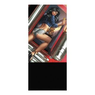 Grimm Fairy Tales #60C Trucker and Hitchhiker Rack Card