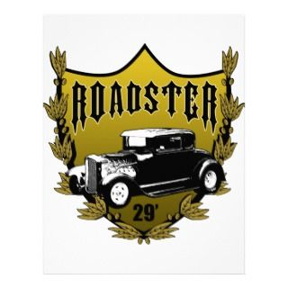 29 Ford Roadster Letterhead Template