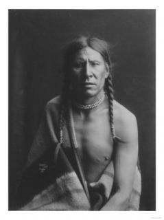 Heavy Shield Native American Indian Curtis Photograph Prints