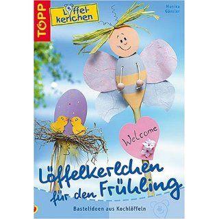 Löffelkerlchen für den Frühling. Bastelideen aus Kochlöffeln