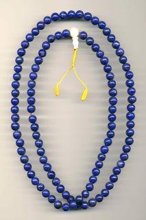 Mala Lapis Lazuli Qualität Buddha Afghanistan 136