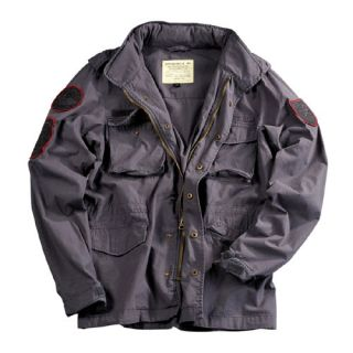 NEU Alpha Industries Blower Patch Feldjacke greyblack