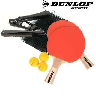 Dunlop Tischtennis Set Ping Pong Marken Komplettset neu