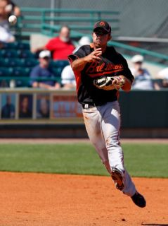Baltimore Orioles v Pittsburgh Pirates, BRADENTON, FL   FEBRUARY 28: J.J. Hardy Photographic Print by J. Meric