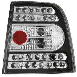 LED Klarglas Rückleuchten VW Passat 3B Limo schwarz Auto