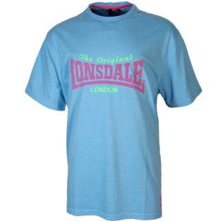 Lonsdale Herren Classic T Shirt hellblau Gr. L hellblau Tee neu