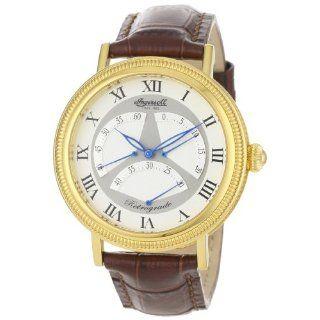 Ingersoll Herren IN2601GWH Crazy Horse Automatic Gold Tone Uhr