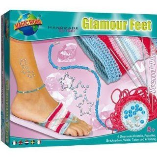 SIMM Marketing 42506   MAGIC WORLD TOYS Glamour Feet: